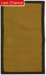 Rugstudio Sample Sale 50274R Honey / Brown Area Rug