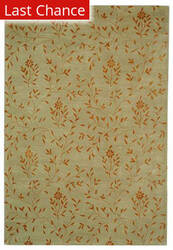 Rugstudio Sample Sale 47141R Beige / Rust Area Rug