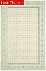 Rugstudio Sample Sale 47464R Beige / Light Blue Area Rug