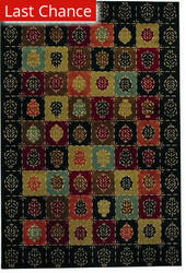 Rugstudio Famous Maker 38115 Ebony Area Rug