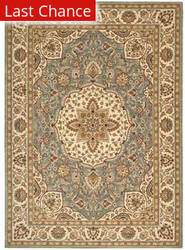 Shaw Arabesque Easton Blue Smoke 02400 Area Rug
