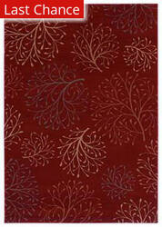 Shaw Inspired Design Isabella Red 12800 Area Rug