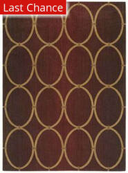 Shaw Pacifica Legacy Firebrick Red 04800 Area Rug