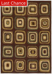 Shaw Angela Adams Ninna Brown 12700 Area Rug