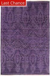 Rugstudio Sample Sale 132110R Violet Area Rug
