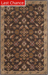Rugstudio Sample Sale 73086R Espresso Area Rug
