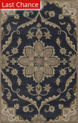 Rugstudio Sample Sale 88016R Midnight Blue Area Rug