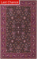 Rugstudio Sample Sale 106228R Chocolate Area Rug