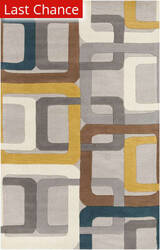 Rugstudio Sample Sale 73195R Teal Blue Area Rug