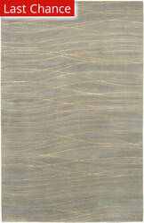 Rugstudio Sample Sale 22513R Taupe/Slate Area Rug