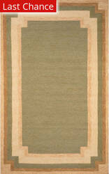 Rugstudio Sample Sale 190051R Green Area Rug