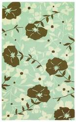 828 Siena Collection SI02 Blue/Brown/Ivory Area Rug