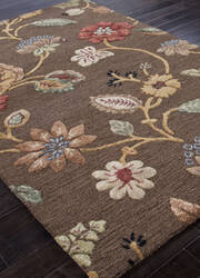 Addison And Banks Hand Tufted Abr0075 Cocoa Brown Area Rug