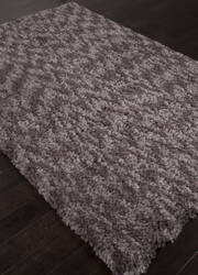 Addison And Banks Shag Abr0843 Taupe Gray Area Rug