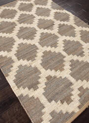Addison And Banks Flat Weave Abr0369 Medium Gray Area Rug