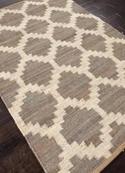 Addison And Banks Flat Weave Abr0369 Medium Gray Area Rug
