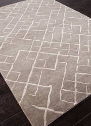 Addison And Banks Hand Knotted Abr1124 Silver Gray Area Rug
