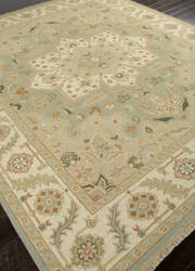 Addison And Banks Hand Knotted Abr1135 Stone Blue Area Rug