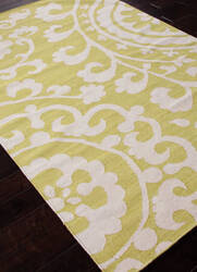 Addison And Banks Flat Weave Abr0471 Wild Lime Area Rug
