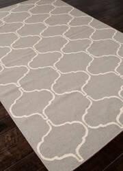 Addison And Banks Flat Weave Abr0708 Medium Gray Area Rug