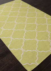 Addison And Banks Flat Weave Abr1236 Lime Sherbet Area Rug