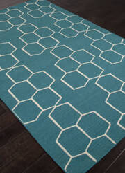 Addison And Banks Flat Weave Abr1257 Deep Lake Outlet Area Rug