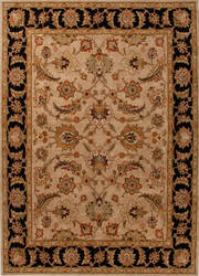 Addison And Banks Hand Tufted Abr0521 Beige/Ebony Area Rug