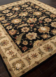 Addison And Banks Hand Tufted Abr0522 Ebony/Sand Area Rug