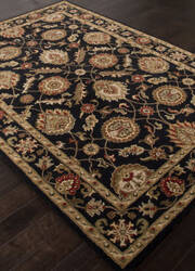 Addison And Banks Hand Tufted Abr1283 Ebony Area Rug