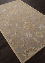 Addison And Banks Hand Tufted Abr1287 Silver Gray Area Rug