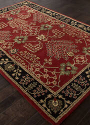 Addison And Banks Hand Tufted Abr1368 Red Area Rug