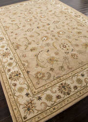 Addison And Banks Hand Tufted Abr0567 Dark Sand/Cloud White Area Rug