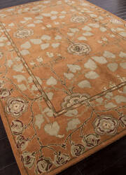 Addison And Banks Hand Tufted Abr1380 Pumpkin Area Rug