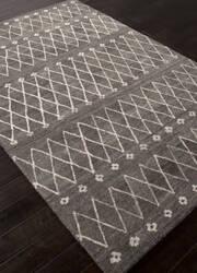 Addison And Banks Hand Tufted Abr1410 Charcoal Slate Area Rug