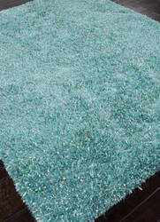 Addison And Banks Woven Shag Abr0661 Aruba Blue Area Rug