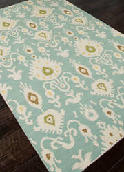 Addison And Banks Flat Weave Abr0492 Cool Aqua Area Rug