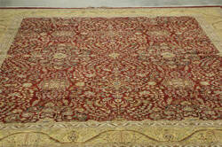 Amer Antiqued Jaipur Gc-5c Deep Red - Gold Area Rug
