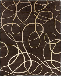 Amer Synergy Xara Brown Area Rug