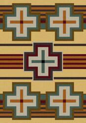 American Dakota Trader Rugs Bounty Yellow Area Rug