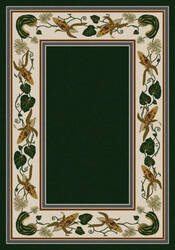 American Dakota New Echota Three Sisters Green Area Rug