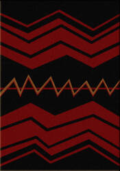 American Dakota Voices War Path2 Black Area Rug
