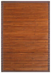 Anji Mountain Bamboo Contemporary Chocolate  Area Rug