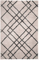 Anji Mountain Diamond Dogs 142048 Ivory - Gray Area Rug