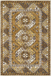 Surya Arabia Joelle Gold - Charcoal Area Rug