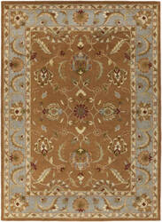 Surya Oxford Isabelle Brown/Light Blue Area Rug