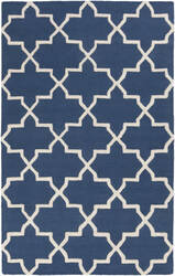 Surya Pollack Keely Blue/White Area Rug
