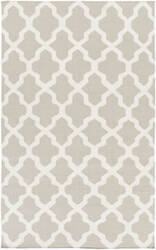 Surya York Olivia Grey/White Area Rug