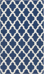 Surya York Olivia Blue/White Area Rug