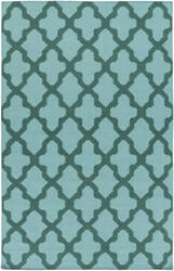 Surya York Olivia Light Blue/Teal Area Rug