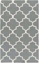 Surya York Mallory Grey/White Area Rug